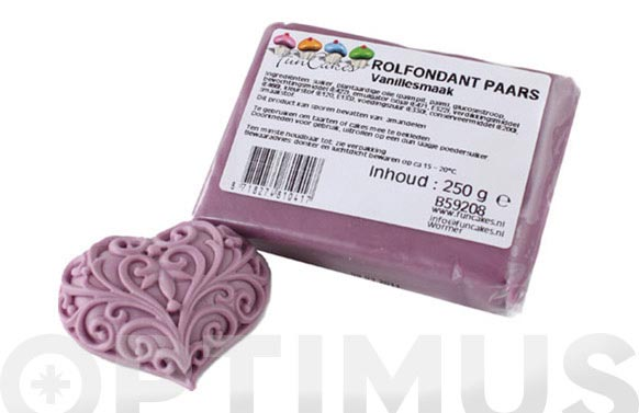 Fondant color 250 gr lila