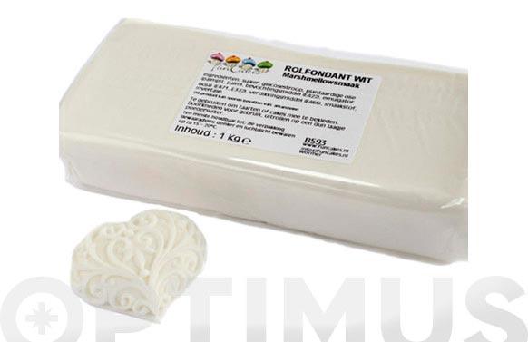 Fondant marshmallow 1kg blanca