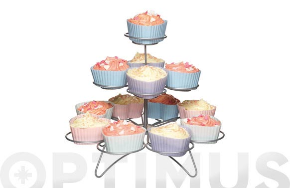 Expositor cupcakes 3 niveles 3133-13cav