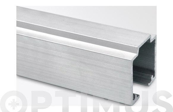 Perfil aluminio natural nk45/50 3 m