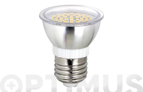 Bombilla led dicroica smd alum 3,5w-120 e-27 luz blanca (6000k)