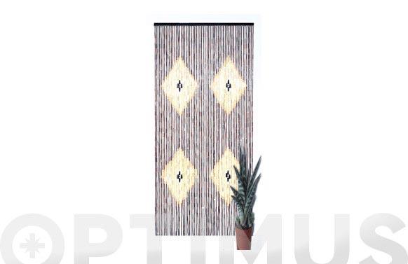 Cortina puerta bambu 90x200 indore