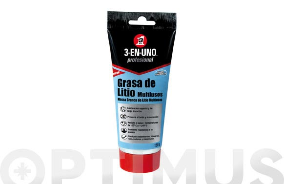 Grasa litio multiuso tubo 150 gr