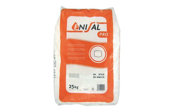 Sal refinada descalcificador 25kg / pastillas