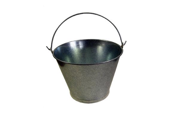 Cubo galvanizado conico 8 l
