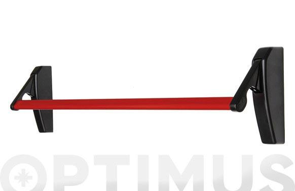 Antipanico embutir reversible con barra 950 mm