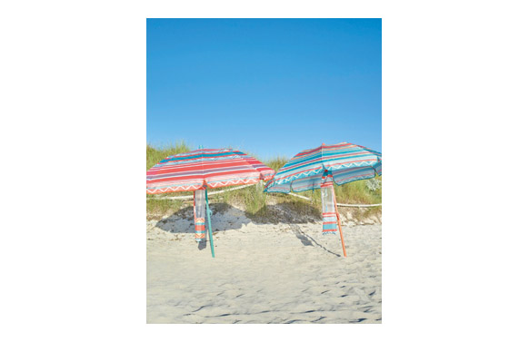 Parasol sombrilla playa plegable mini ø 180 cm colores surtidos upf50+