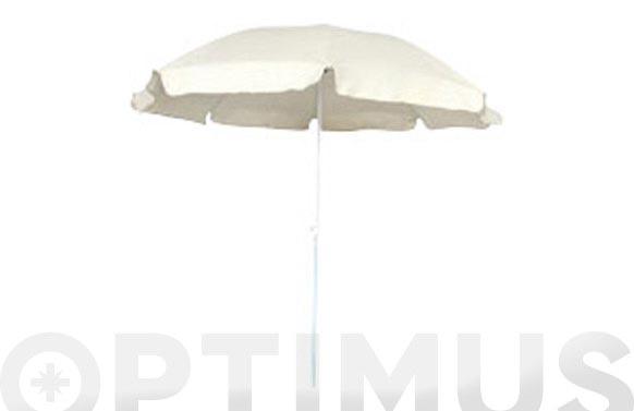 Parasol playa d.200 750-crudo