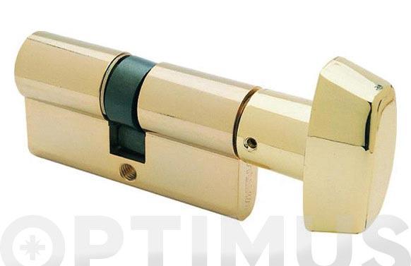 Cilindro te5 laton llave serreta 40-30 boton