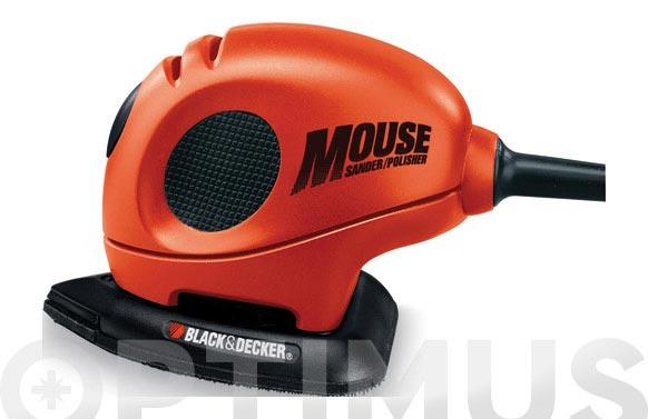 Lijadora orbital mouse 55 w 25 accesorios