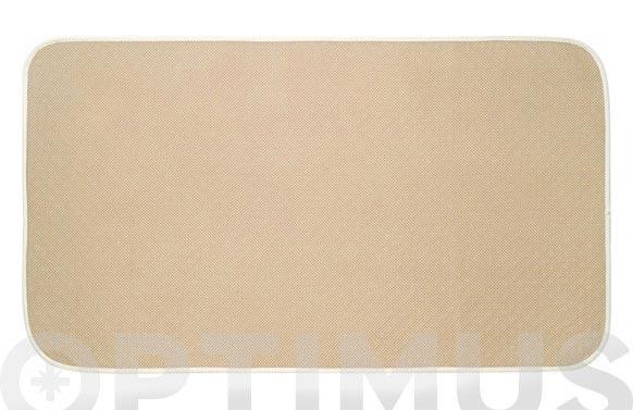 Alfombra baño idry beige 18 x 31 cm