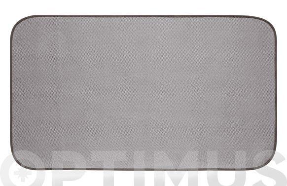 Alfombra baño idry gris 18 x 31 cm