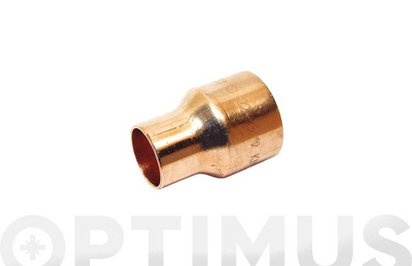 Reduccion cobre h-h 18 mm-15 mm 1u
