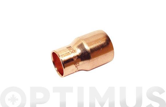 Reduccion cobre m-h 18 mm-15 mm 1u