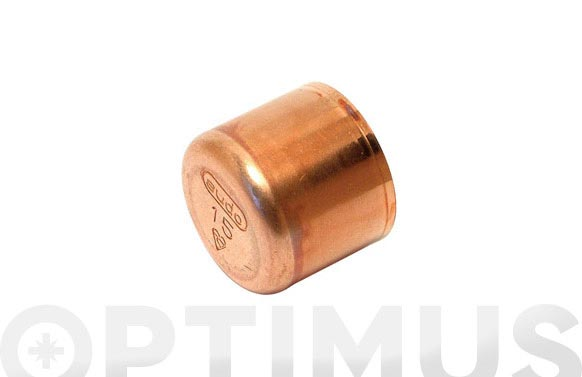 Tapon cobre hembra ø 15mm 1ud