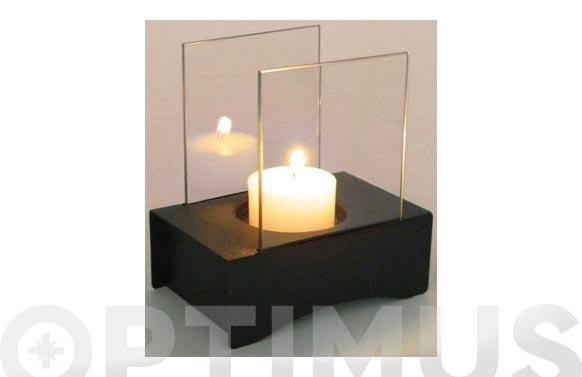 Biochimenea sobremesa cristal alampat fb-004