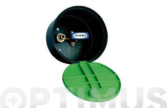 """Grifo esfera c/caja y tapa 3/4"""""""