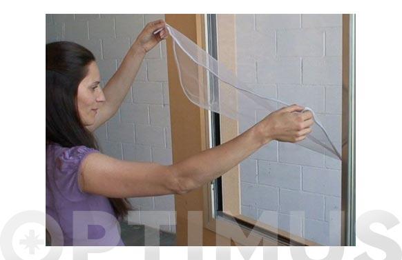 Mosquitera ventana velcro practicable 150x180-blanco