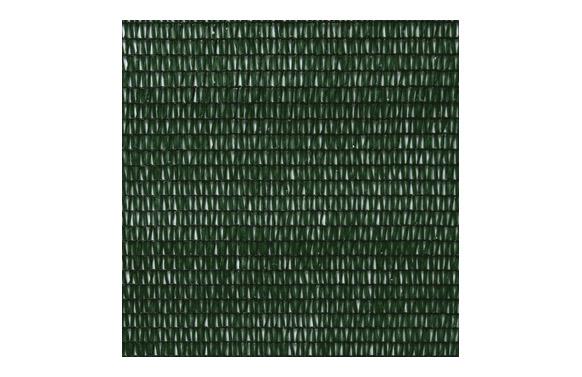 Malla ocultacion pe/rf 80% 1,5 x 5 m verde oscuro