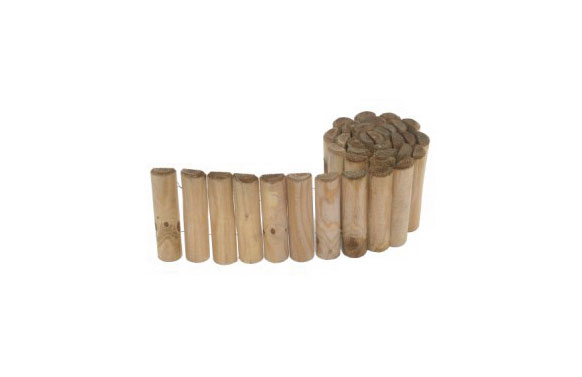 Bordura madera siloux ø5 x 20 x 180cm espesor 25