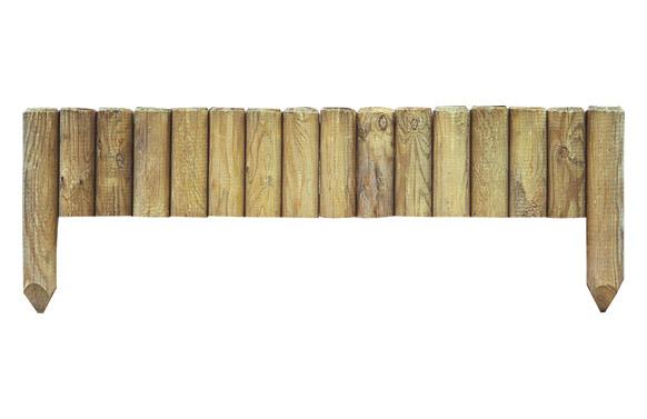 Bordura-minivalla madera pinede 20/35x112 cm