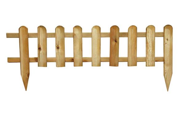 Bordura minivalla madera basic 45 x 110 cm poste fijacion 45 cm