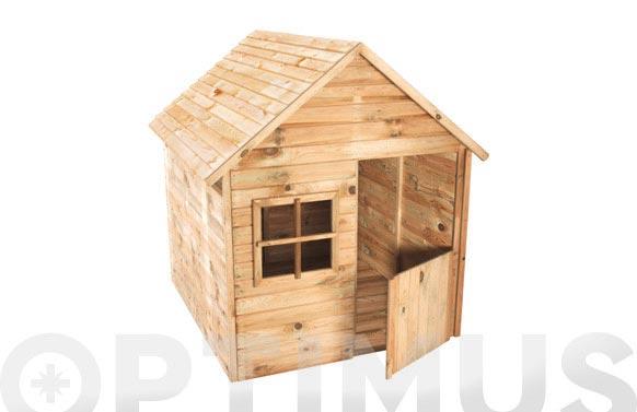 Caseta madera infantil marina 123x120x158,5cm
