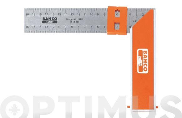 Escuadra carpintero bahco 9048-200 mm