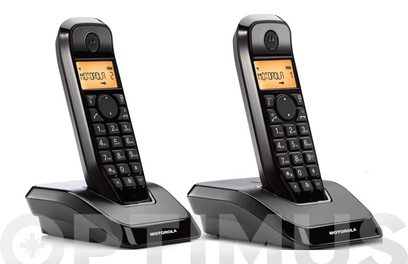 Telefono inalambrico s12 s-12 duo