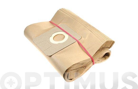 Bolsa papel aspirador 10 uds 26/35/50 l