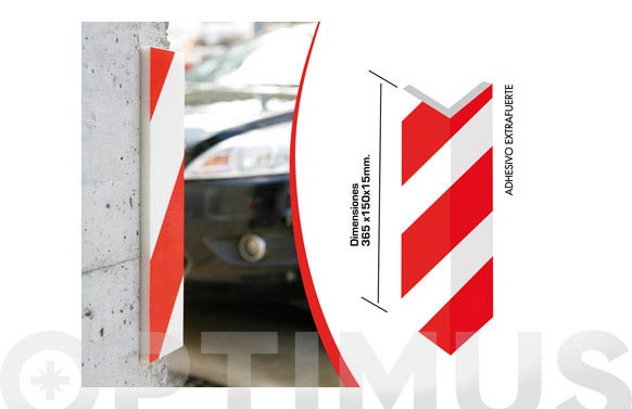 Protector parking cantonera 365 x 150 x 15 mm