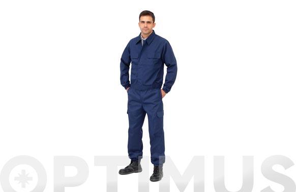 Pantalon algodon ignifugo antiestatico l3000 t 52 azul marino 200 grs