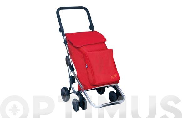 Carro compra 4r.gir.go plus rojo