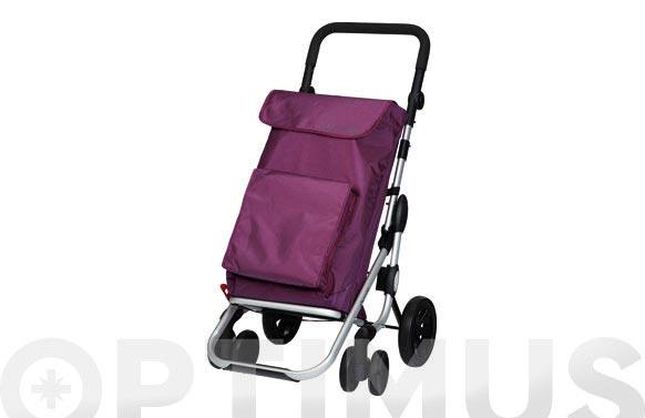 Carro compra 4r.gir.go plus lila plum