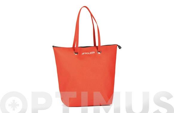 Bolsa compra superbag rojo