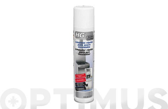 Limpiador rapido acero inoxidable 300 ml
