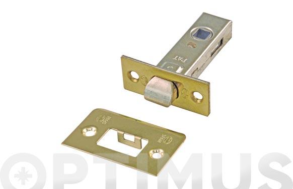 Picaporte tubular 6-35 mm latonado