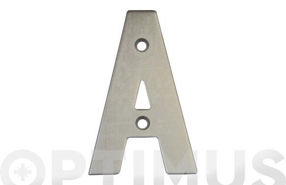 Placa 4 inox 18/8 amig (bl) letra f