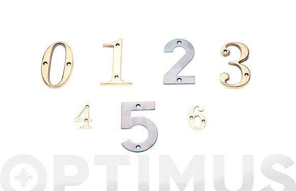 Placa 4 laton amig (bl) numero 0