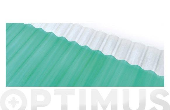 Lamina ondulada fv (rollo 1.5x5m) 470212-verde