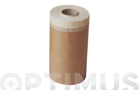 Papel kraft banda superior adhesiva 15 cm x 45 mts