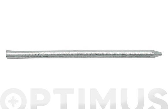 Punta hierro cabeza conica pulido 130gr 1,1 x 15 mm