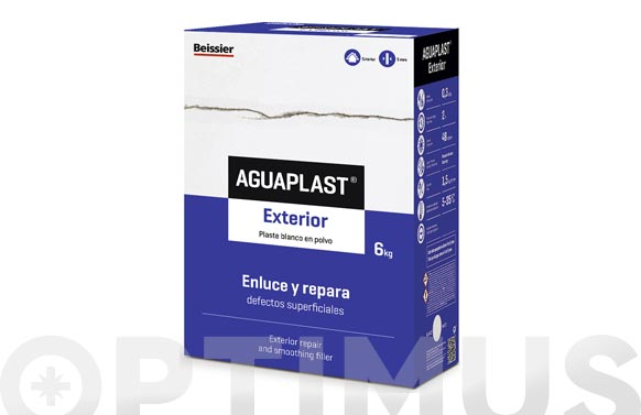 Aguaplast exterior (reparador) 1,5 kg polvo