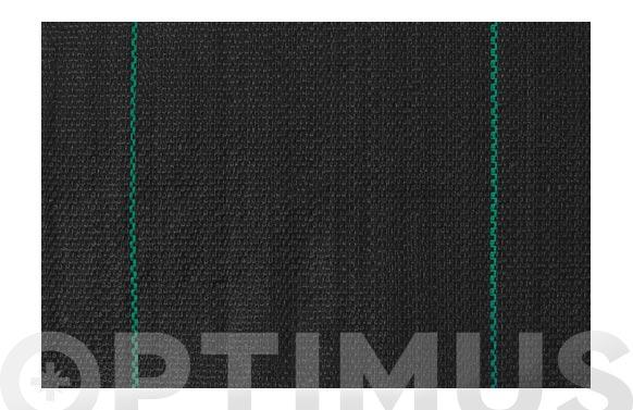 Malla antihierba g100 negro 1,05 x 10 mt
