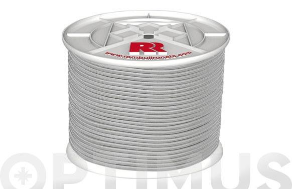 Cuerda elastica latex blanca 6mm-200 mt