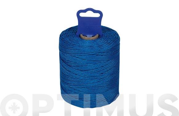 Hilo replanteo 8842 pp trenzado 50 mt azul
