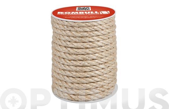 Cuerda sisal cableada 4c 8mm 25mt