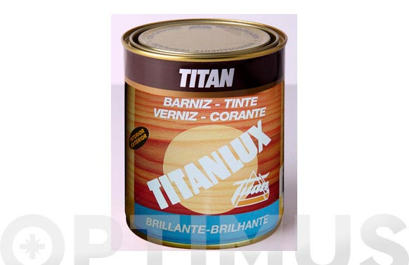 Barniz tinte brillo para madera 125ml roble