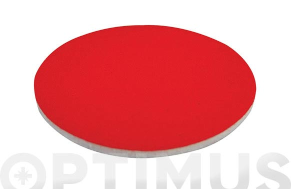 Disco fieltro pulir fijacion textil 128 mm
