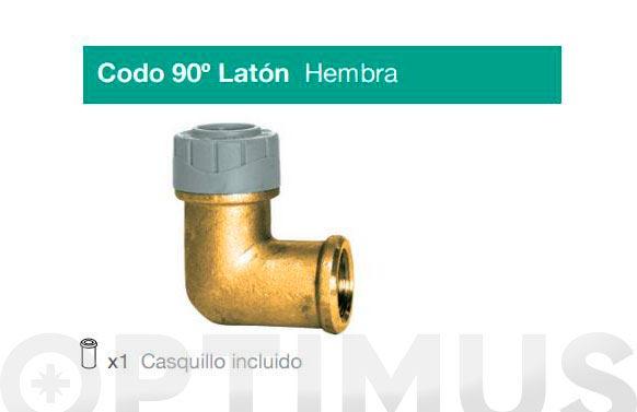 Codo laton-pb rosca-h 22x1/2